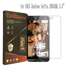 For ASUS Zenfone Go ZC500TG Tempered Glass For ASUS Zenfone Selfie ZD551KL 9H 2.5D Screen Protector Guard Film