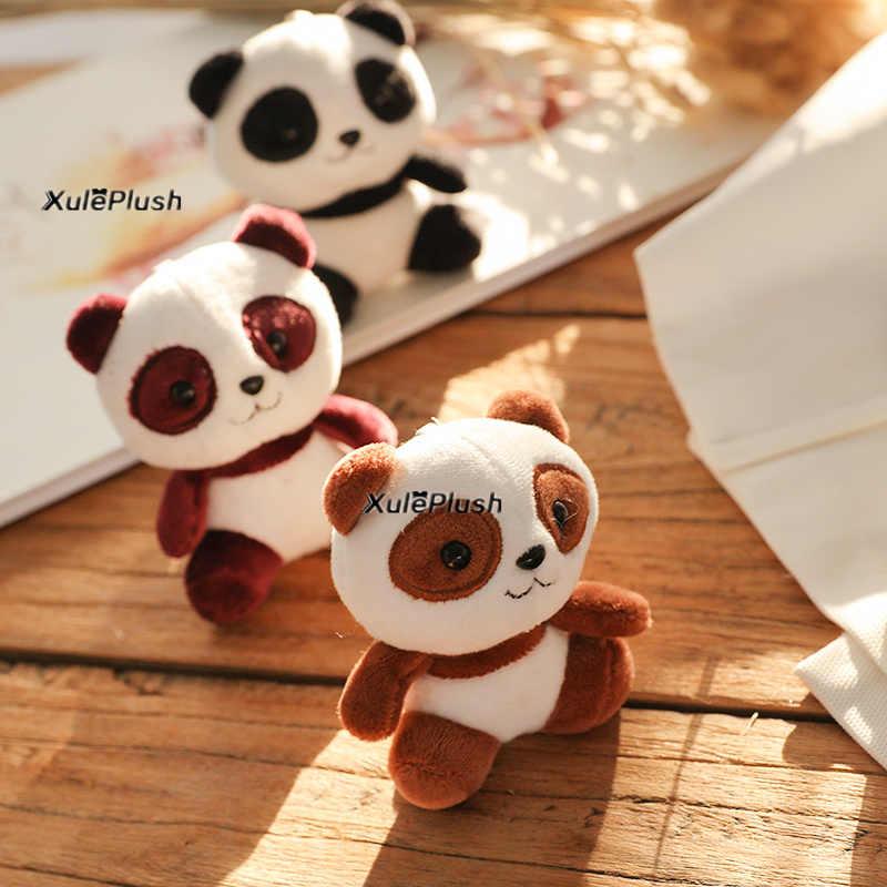 Multi-tailles, nouveau-amant Panda 3-10CM en peluche jouets en peluche-porte-clés anneau pendentif jouets en peluche, cadeau de mariage Panda en peluche