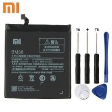 Xiao Mi Xiaomi Mi BM38 Phone Battery For Xiao mi 4S M4s BM38 3260mAh Original Replacement Battery + Tool goowiiz розовый mi 4s