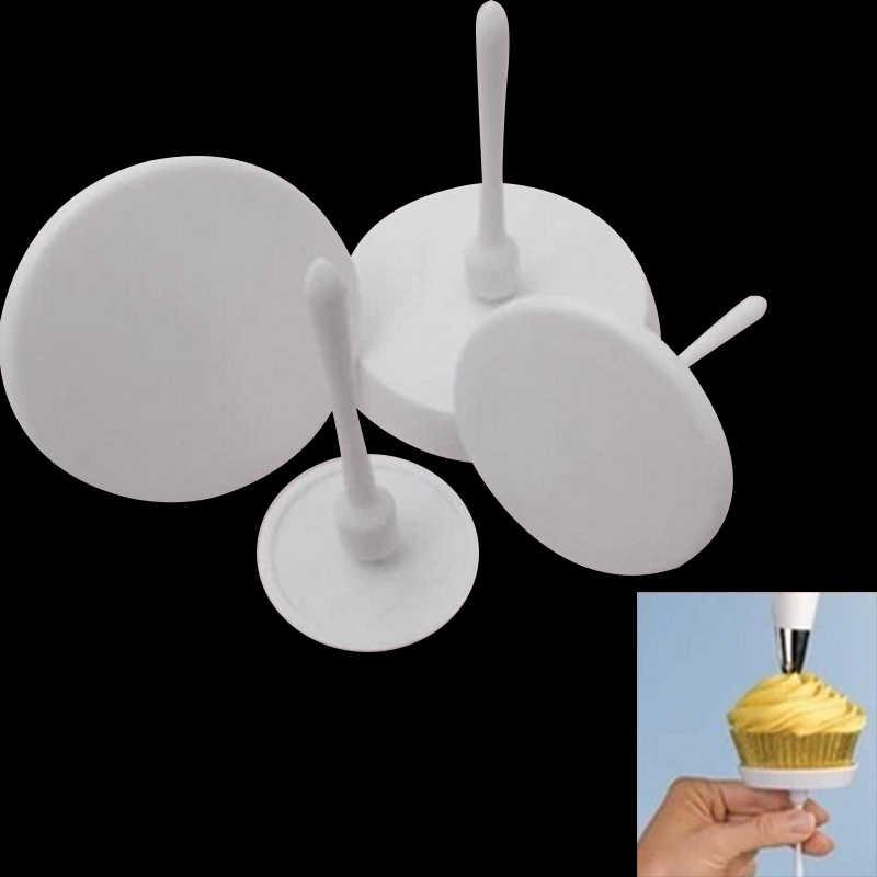 ZGTGLAD 4 ชิ้น/เซ็ตใหม่หัตถกรรมน้ำตาลเค้กคัพเค้กไอศกรีมดอกไม้เค้กตกแต่งเครื่องมือห้องครัวอุปกรณ์ DIY