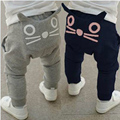 Baby Pants Boys Clothes 2017 New Spring Kids Clothing Boys Girls Harem Pants Cotton Owl Trousers Baby Trousers 0 1 2 Years Old