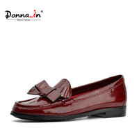 Donna In 2017 New Summer Unique Bowknot Women Casual Pointed Toe Oxford Shoes Comfortable Flats