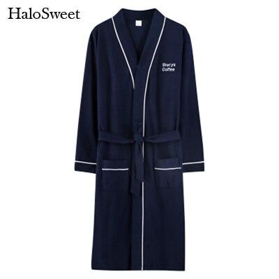 HaloSweet Robe en coton Femme Kimono éponge Peignoir femmes Lingerie maison VS demoiselle d'honneur Robes Peignoir Femme vêtements de bain