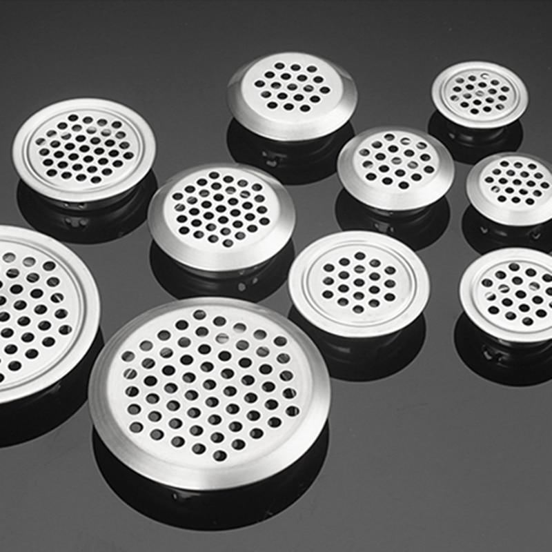 5 шт. шкаф сетки отверстие вентиляционные решетки вентиляционная крышка нержавеющая сталь резка отверстие Dia.19mm/25 мм/29 мм/35 мм/53 мм