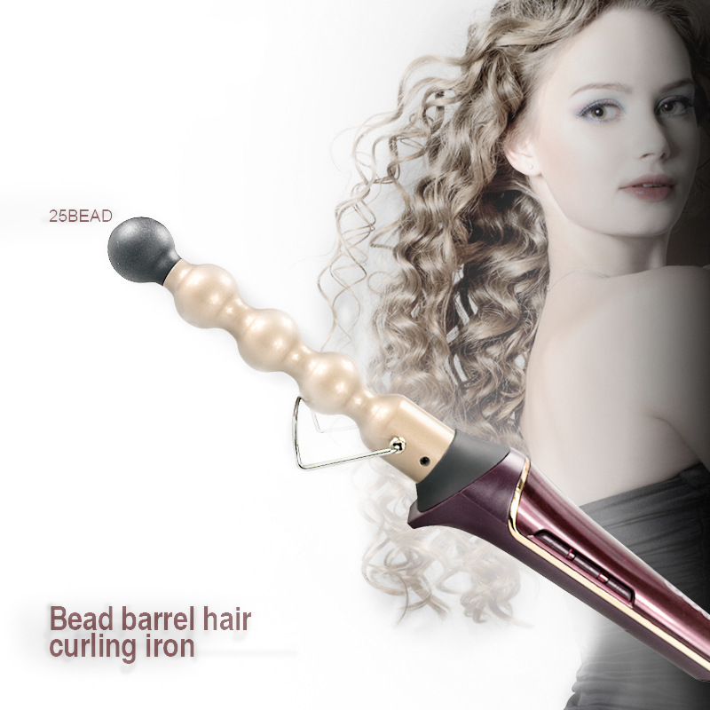 110-240V Professional Hair Curler Ceramic Roller Bead Curling irons Wand Machine 13-25mm Magic Curls Styling Tools Hair Curler 14 25mm cone ceramic electric hair curling wand 110 240v hair styler curls curling iron diy hair styling tools curler roller 45