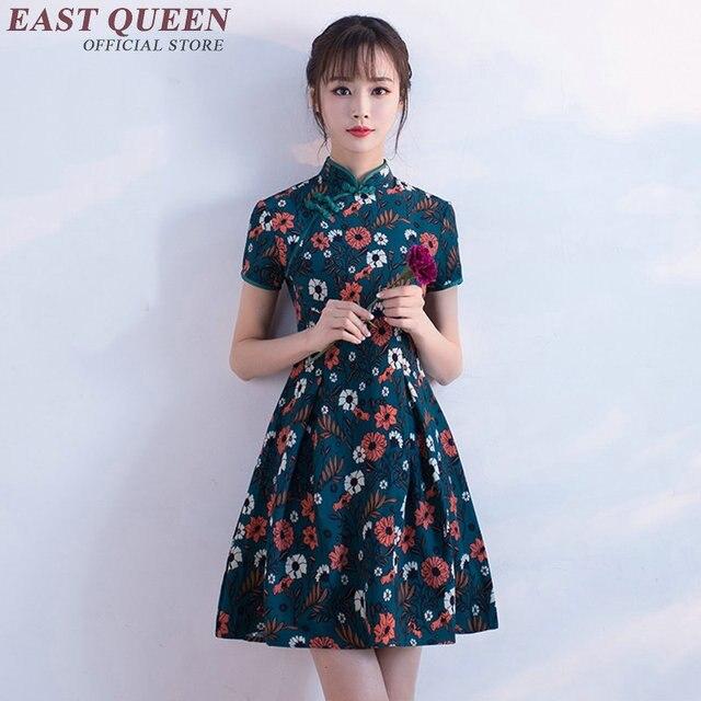Chinesische oriental kleider moderne qipao kleid moderne cheongsam ...