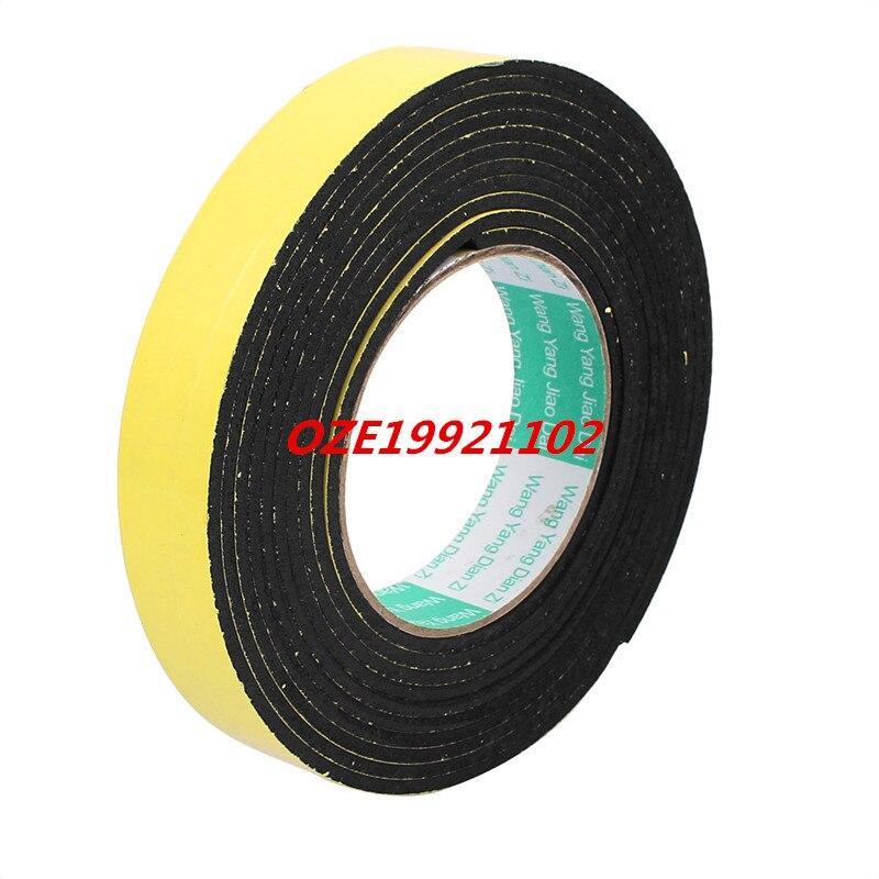 25mm Width 3mm Thickness Single Side Self Adhesive Shockproof Sponge Foam Tape 4 Meters Length 85mm 33 meters 0 08mm single side high