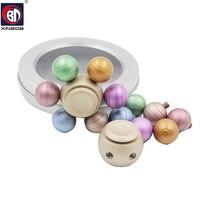 Six Color Ball Hand Spinner Fidget Spinner Stress Cube Torqbar Brass Hand Spinners Focus KeepToy