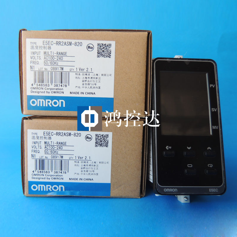 New Omron Temperature Controller E5EC-RR2ASM-820New Omron Temperature Controller E5EC-RR2ASM-820