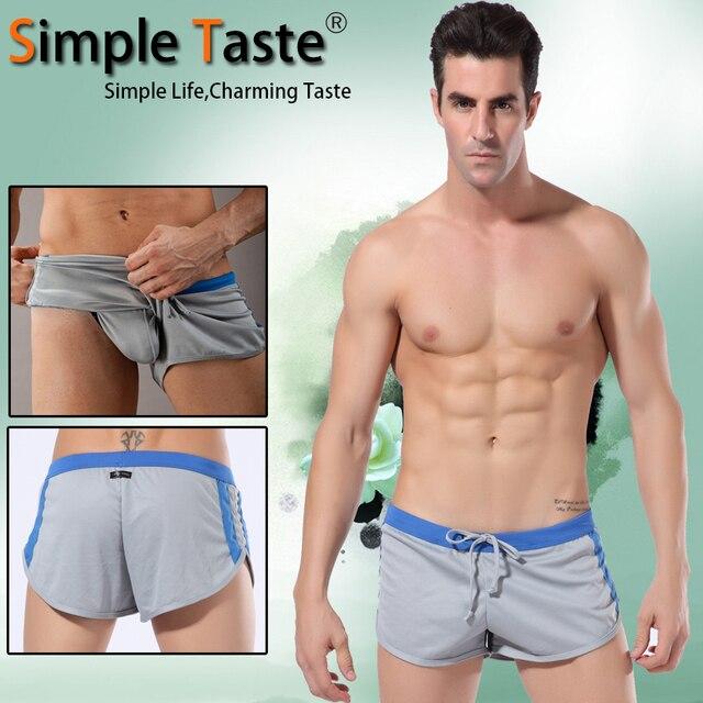 2015 New Arrival Mens gym Shorts Simple Taste Mesh Men Running ...