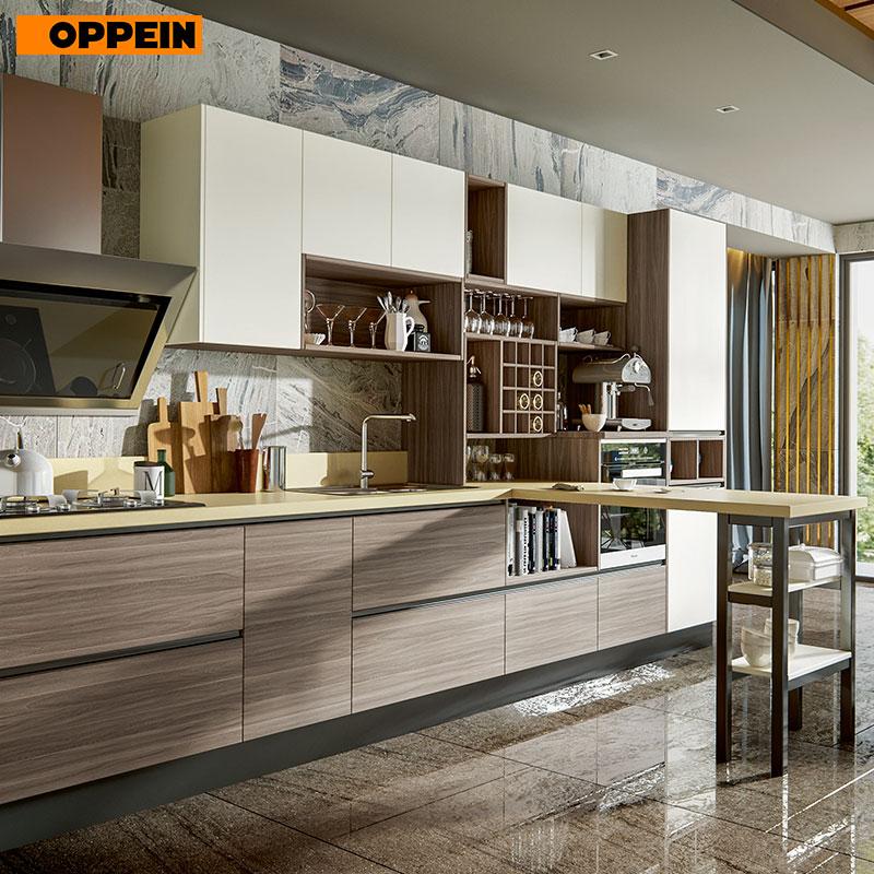Oppein Modern Style Modular Kitchen Designs For Small Kitchens Modern Kitchen Furniture Plcc17011 Kitchen Cabinets Aliexpress