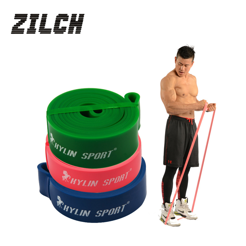 купить 3Pcs/set Set Natural latex Strength Resistance Bands Loop Fitness Crossfit Big Power Lifting Pull Up Strengthen Muscles Free DHL в интернет-магазине