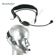 Головной конденсатор ME3 микрофон гарнитура для AKG Shure Senheiser и аудио технический Беспроводной MicwlAudio 005 черный