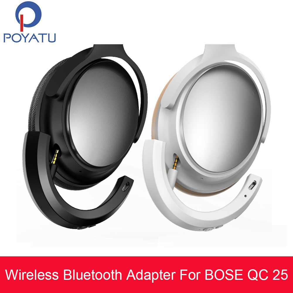 Wireless Bluetooth Adapter for Bose QC 25 QuietComfort qc25 Headphones QC25