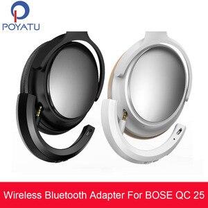 Image 1 - Pointu adaptador bluetooth para bose qc25 qc 25, fone de ouvido, sem fio, receptor bluetooth para bose quietcomfort 25 aptx