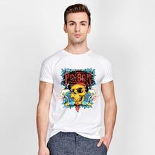 Pirate Captain skull T-shirts poison t shirt Funny Short Sleeve horrific Tshirts 2016 New Fashion Summer Style