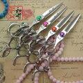 """HeX фиолетовый дракон ножницы для стрижки волос ножницы 5.5 """"высокое качество профессионального парикмахерского styling инструменты японский 440C горячая продажа"""