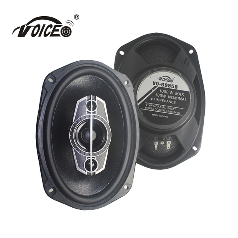 6 9 Auto Loudspeaker Paired Automobile Music Car HiFi Coaxial Speaker Bass Tweeter Audio Speakers for