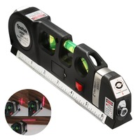 Hot Sale Accurate Multipurpose Laser Level Lever Cross Projects Horizontal Vertical Laser Light Beam Measure Tape