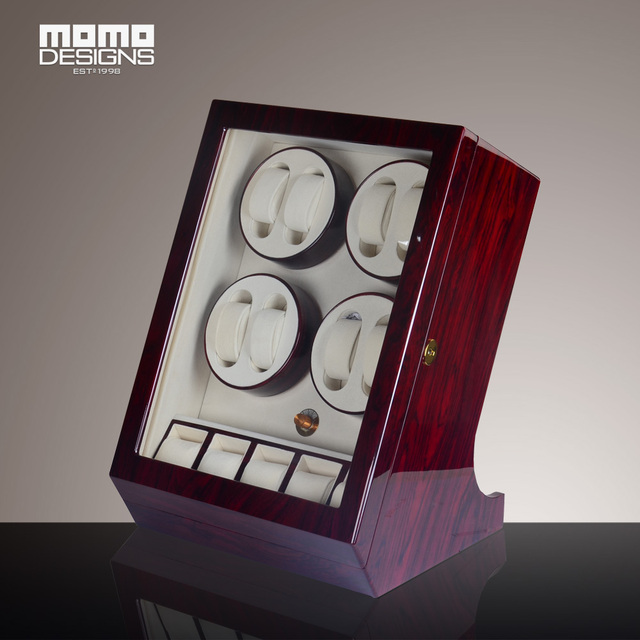 watch winder classical 85 automatic watch box rose wood reel winder new japanese motor - Automatic Watch Winder