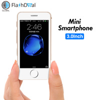 Smallest Smart phone Melrose S9X MT6580A/X Quad Core Ultrathin Mini mobile phone 5MP Android 6.0 mobile phone