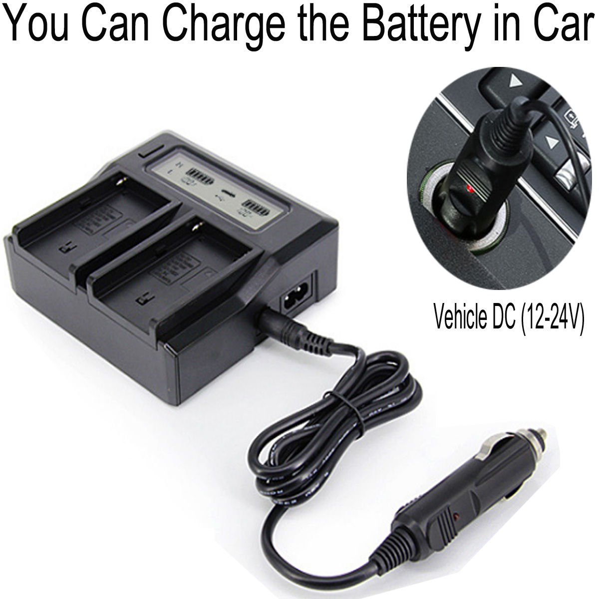 AG-AC160AAN Camcorder Battery Charger for Panasonic AC160AP AG-AC160AN