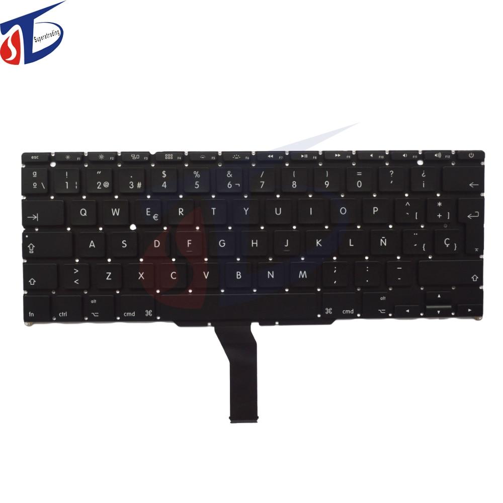 10Pcs Lot Original Spanish SP Keyboard For font b Macbook b font Air 11 A1370 A1465