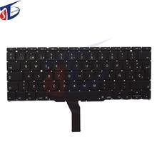 10Pcs/Lot Original Spanish SP Keyboard For Macbook Air 11″ A1370 A1465 MC505 MC506 MC968 MC969 SP Keyboard without backlight