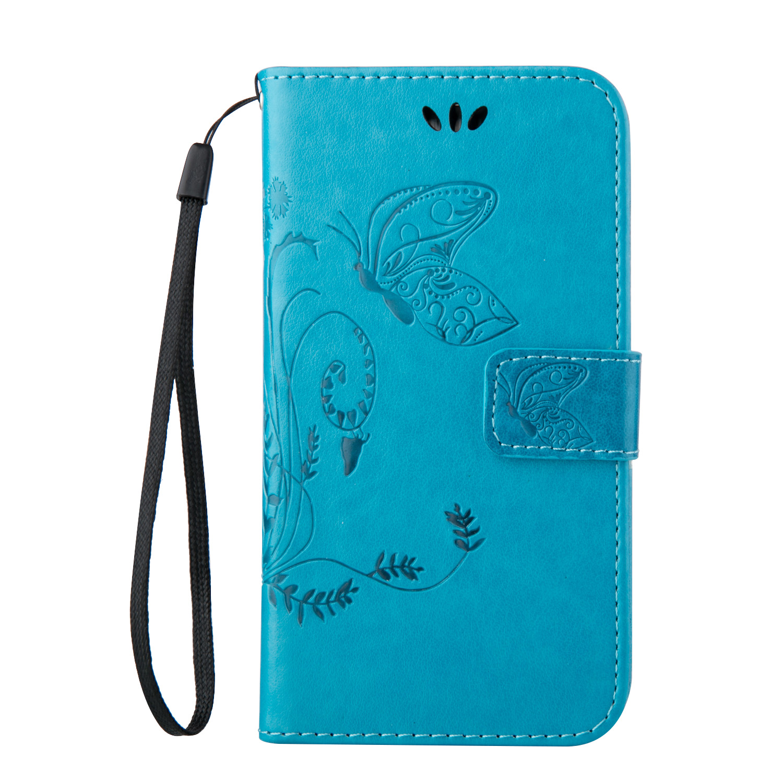 Nuevo para huawei ascend p9 pu estuche de cuero con soporte de la tarjeta protec