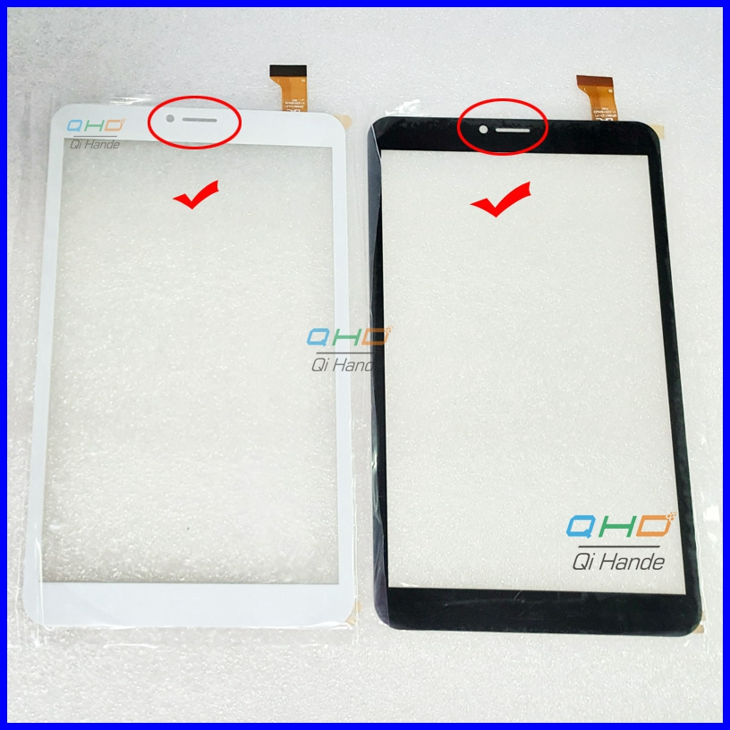 1PCS/LOT OR 10pcs/lot New 8 Inch Touch Screen Digitizer Sensor Panel For DP080133-F1 V1.0 Tablet Replacement Free shipping new replacement capacitive touch screen digitizer panel sensor for 10 1 inch tablet vtcp101a79 fpc 1 0 free shipping