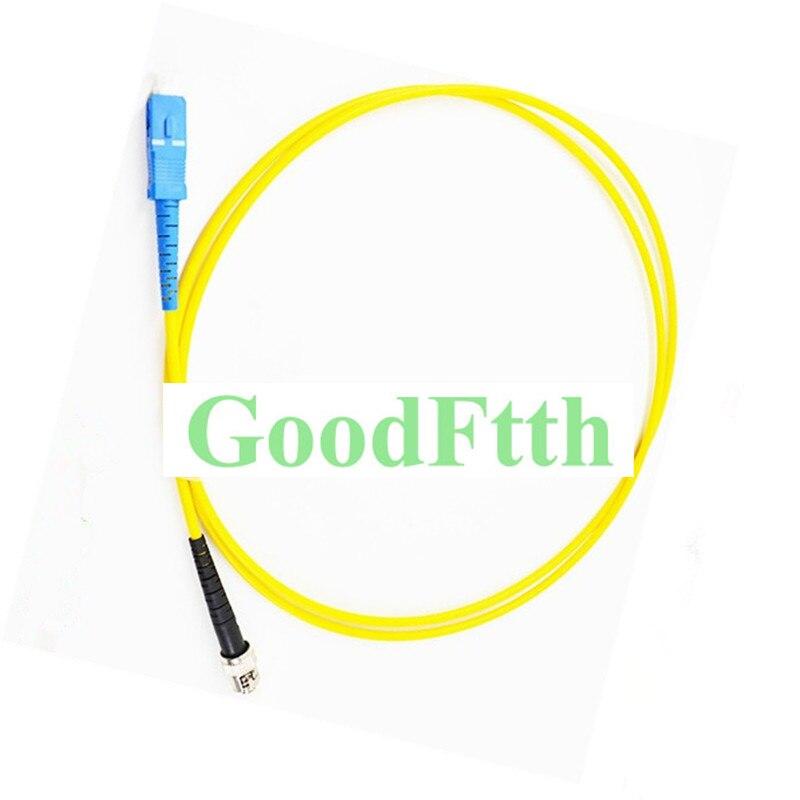 Fiber Patch Cord Jumper SC-ST UPC SC/UPC-ST/UPC SM Duplex GoodFtth 100-500mFiber Patch Cord Jumper SC-ST UPC SC/UPC-ST/UPC SM Duplex GoodFtth 100-500m