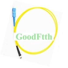 Fiber Patch Cord Jumper SC-ST UPC SC/UPC-ST/UPC SM Duplex GoodFtth 100-500m fiber patch cord jumper e2000 upc sc upc e2000 sc upc sm duplex goodftth 100 500m