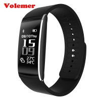 Volemer K8 Smart Band Blood Pressure Monitor Pulse Meter Heart Rate Wristband Fitness Tracker Smartband SMS