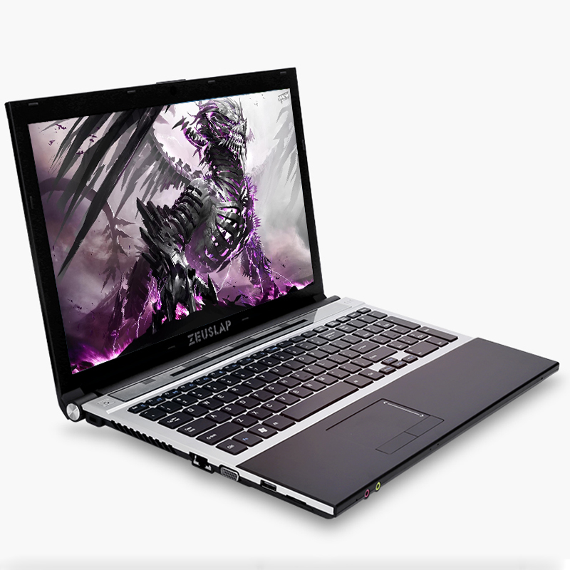15.6inch Intel Core I7 CPU 8GB RAM+120GB SSD+500GB HDD 1920*1080P FHD WIFI Bluetooth DVD-ROM Windows 10 Laptop Notebook Computer