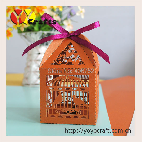 indian wedding sweet boxes for weddings fancy bronze color birdcage ...