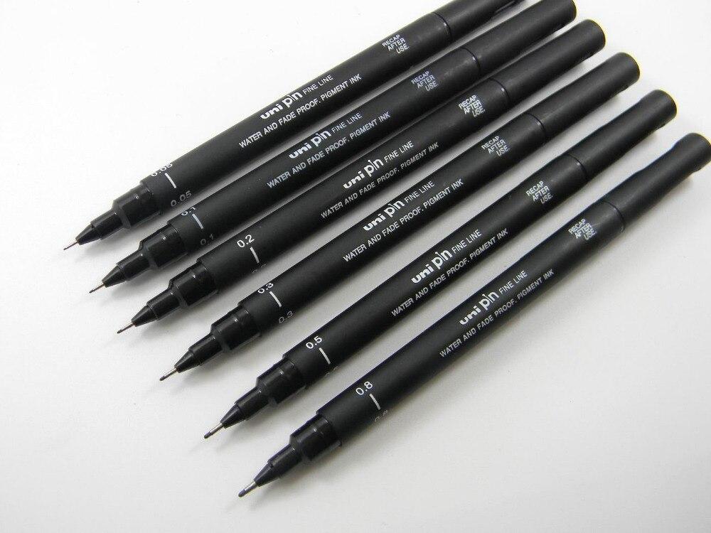 uni маркером