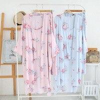 women spring summer wide leg pants home clothing soft staple rayon sleepwear sets 3pcs artificial cotton pajamas female