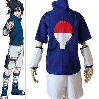 Sıcak Satış Anime Cosplay Narutos Ninja Uchiha Sasuke Cosplay Kostüm Cadılar Bayramı kostümleri Parti Kostüm