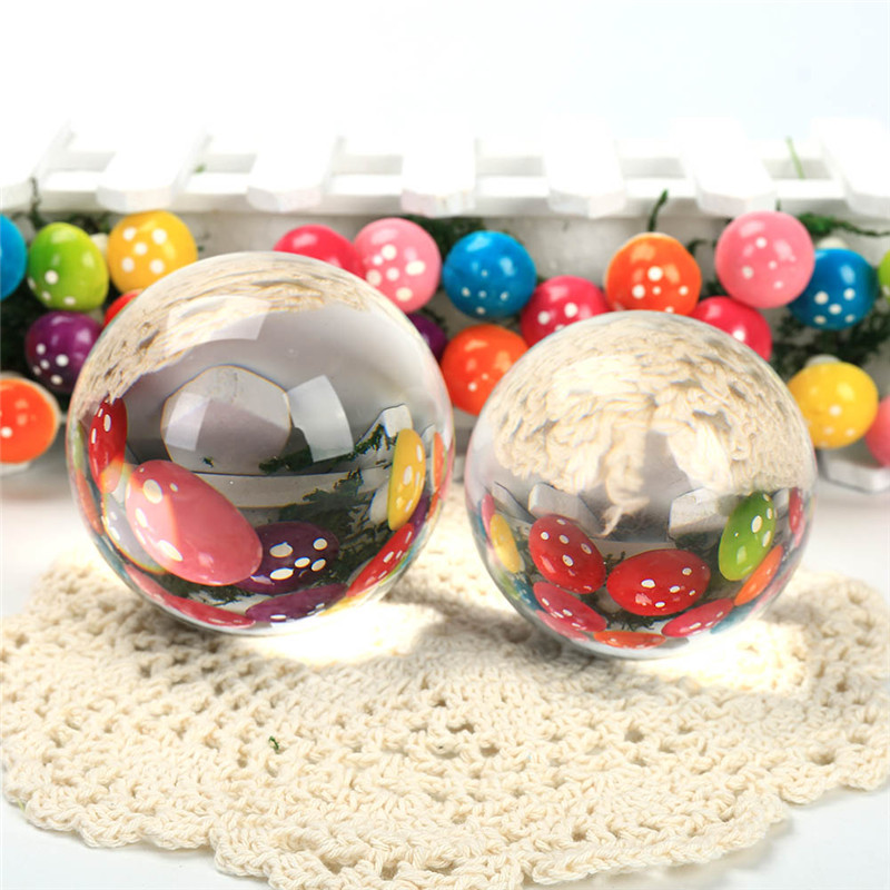 New Arrivel Clear Crystal Magic Ball Asian Natural Quartz Clear Crystal Healing Quoted Ball Toy Children Gift