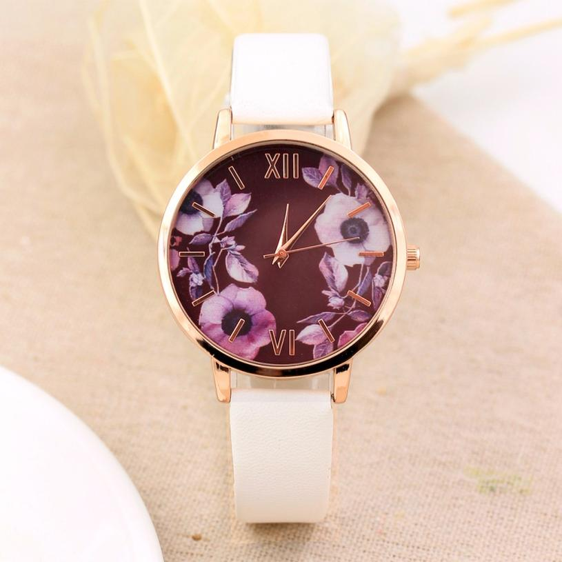 Elegance Fashion Women Watches Brand Quartz Wristwatch Casual Clock Dress Ladies Watch montre femme Gift Watch Relojes Mujer #C 2018 luxury brand curren men military sports watches men s quartz date clock man casual leather wrist watch relogio masculino