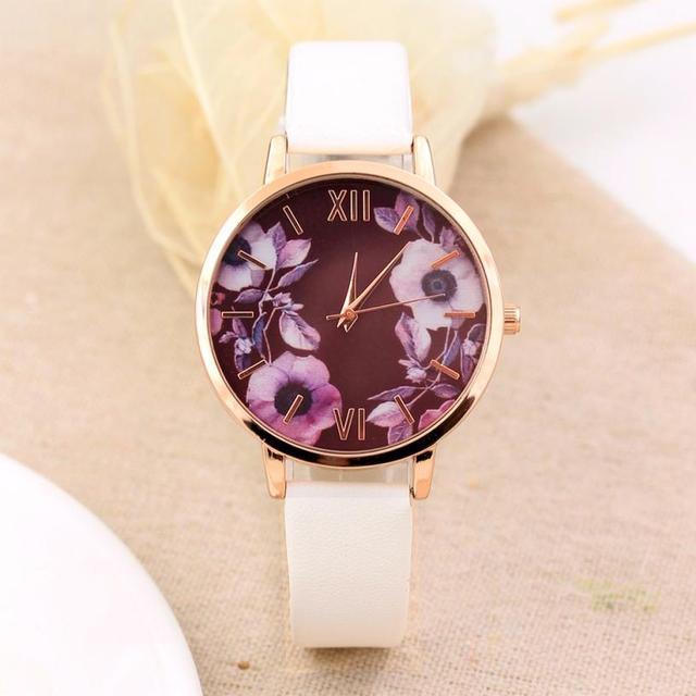 Elegance Fashion Women Watches Brand Quartz Wristwatch Casual Clock Dress Ladies
