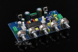 Image 2 - 새로운 어셈블리 lm4610 + ne5532 프리 앰프 lm4610 음색 제어 보드 (loudness switchable diy 포함)