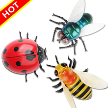 2018 Infrared Ladybugs / Flies / Bees Remote Control Mock Fake RC Toy Animal Toy Bugs for For Children Toys
