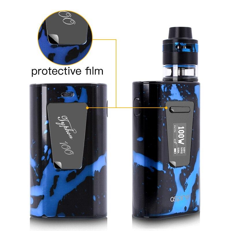 Cigarette électronique Aspire Typhon Revvo 100 W Vaporisateur Kit E Cig Dispositif avec 5000 mah batterie intégrée et 2 ML Revvo atomiseur Réservoir - 4