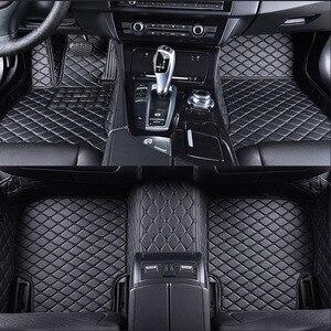 Image 4 - car floor mats for BMW e30 e34 e36 e39 e46 e60 e90 f10 f30 x1 x3 x4 x5 x6 1/2/3/4/5/6/7 car accessories styling Custom foot mats