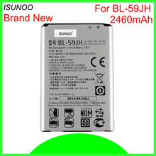 ISUNOO 10 шт./лот BL-59JH Батарея для LG Optimus L7 II двойной P715 F3 F5 F6 VS870 Ludid2 P703 принять VS870 VS890 MS500 P710 P659
