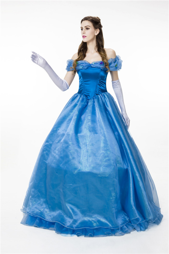 Detail Feedback Questions about Adult Women Cinderella Princess Dress  Ladies  Fancy Dress Halloween Carnival Cosplay Costume For Women on  Aliexpress.com ... bc002c029a05