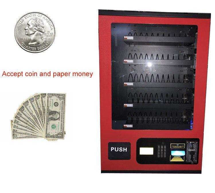 Offre Spéciale Papier d'argent et coin petits distributeurs Self-Service machine pour vente préservatif avec rouge, noir, blanc couleur différente