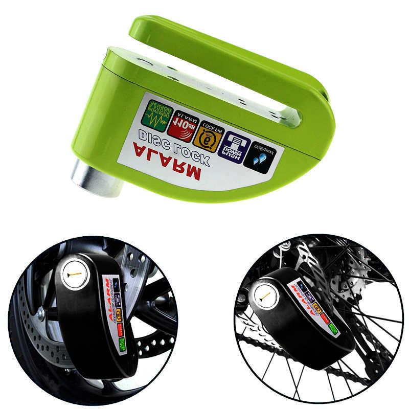 Waterproof Motorcycle Alarm Lock Bike Lock Security Anti-theft Lock Moto Disc Brake Lock