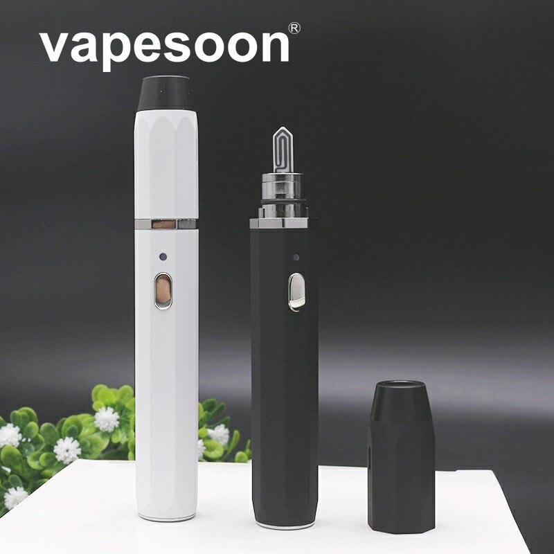 D'origine vapesoon Chauffage Vaporisateur Kit e-Cigarette Stylo Vaporisateur avec 650 mah Batterie pour chauffage IQ * S/HEETS Tabac cartouche